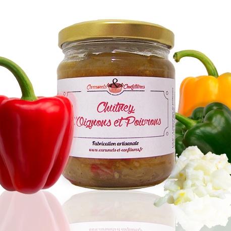 Chutney d'Oignons et Poivrons
