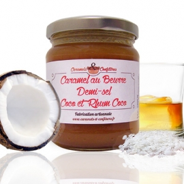 Caramel au Beurre Demi-sel, Coco et Rhum Coco