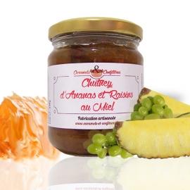 Chutney d'Ananas et Raisins au Miel