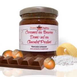 Caramel au Beurre 1/2 sel au Chocolat Praliné